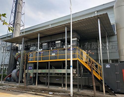 造粒厂催化燃烧设备